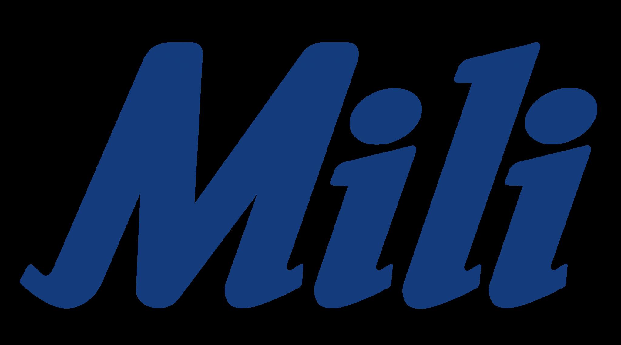 logo Mili - Azul